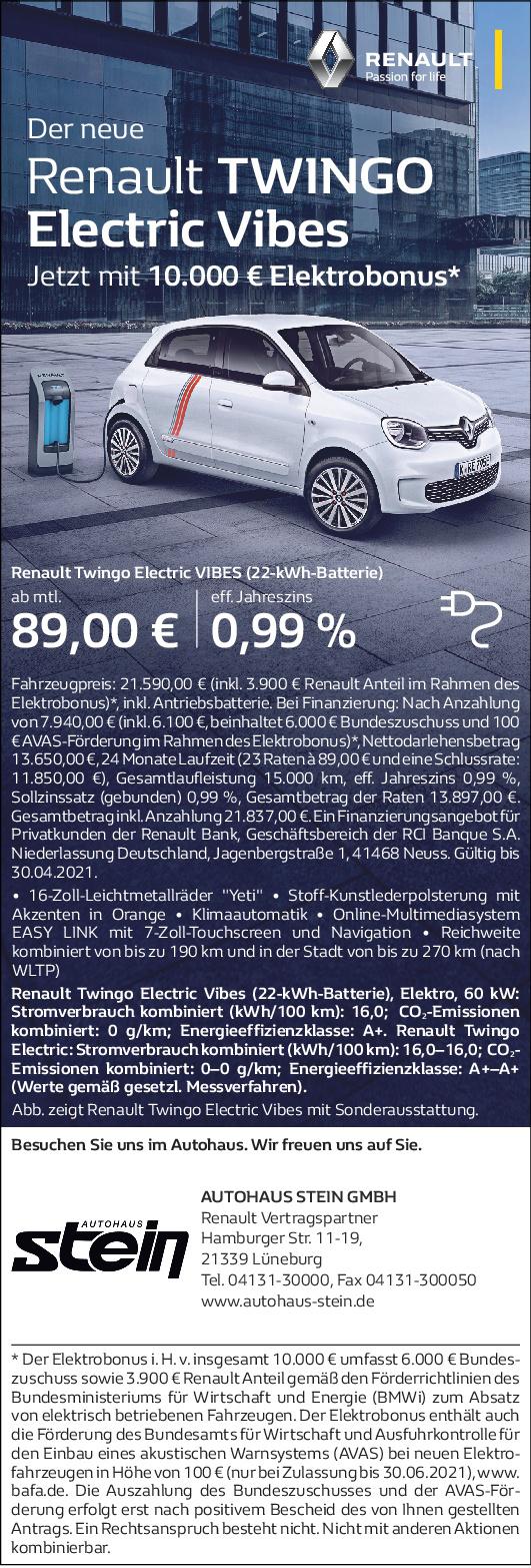 Twingo Electric Werbung 04.21